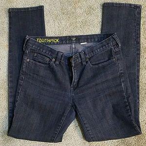 J. Crew Toothpick Jeans Size 30